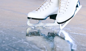 Canlan Ice Sports: Ice-Skating with Skate Rental for Two or Four at Canlan Ice Sports (Up to 55% Off)