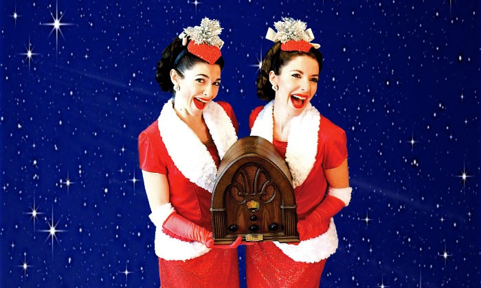 """""""Christmas On The Air"""" presented by Gracie & Lacy - The Footlight Theatre: """"Christmas On The Air"""" presented by Gracie & Lacy on Saturday, November 28, at 2 p.m. or 7 p.m."""