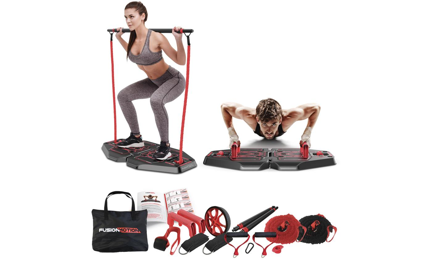 Eight-in-One Full Body Workout Fitness Device