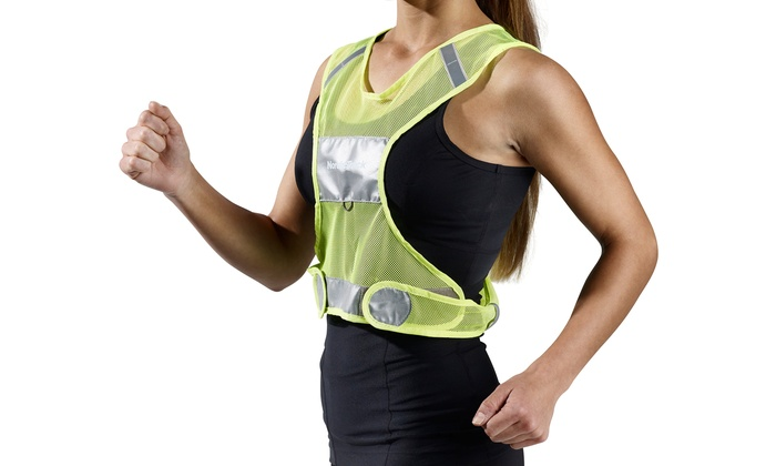 This yellow highly reflective safety vest is perfect for running, biking, hiking, and walking dogs during early mornings, or evenings when it is dark. It provides you the best protection from motorist.