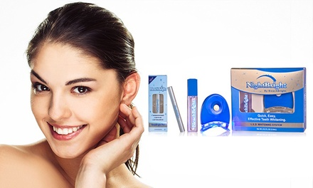 $29 for an At-Home Teeth-Whitening Kit and Maintenance Pen from Sunny Smiles by BleachBright ($168.99 Value)