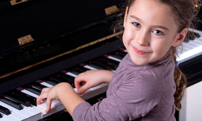 New Song Music - Chicago: One Month of In-Home Piano Lessons for One, Two, Three, or Four Children at New Song Music (Up to 62% Off)