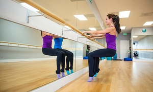 Tone Barre: 10 Classes, 15 Classes, or One Month of Unlimited Classes at Tone Barre (Up to 65% Off)