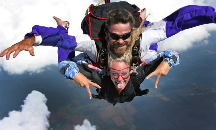 Gravity Powered Sports - Jackson: Tandem Skydive for One or Two People at Gravity Powered Sports (Up to 35% Off)