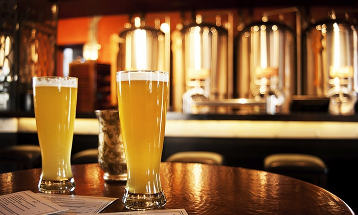 Where2 Transportation - Edge Brewing: Brewery Tour for One, Two, or Four from Where2 Transportation (Up to 54% Off)