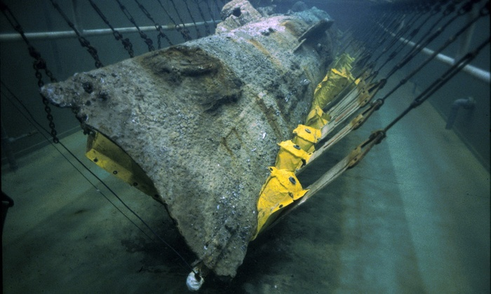 H.L. Hunley Submarine - North Charleston: Museum Admission to the H. L. Hunley Submarine (Up to 53% Off).  Four Options Available.