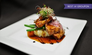 Fromage Bistro: European Dining at Fromage Bistro (Up to 48% Off). Two Options Available.