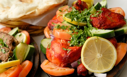 $12 for $20 Worth of Indian Dinner Cuisine for Two at Desi Tadka