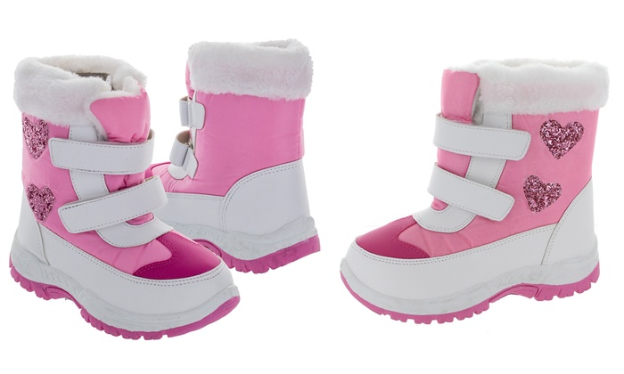 Rugged Bear Girls' Snow Boots (Size 5) | Groupon