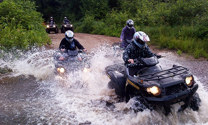 Back Country Tours - Dwight: C$59 for a One-Hour Guided ATV Tour from Back Country Tours (C$100 Value)