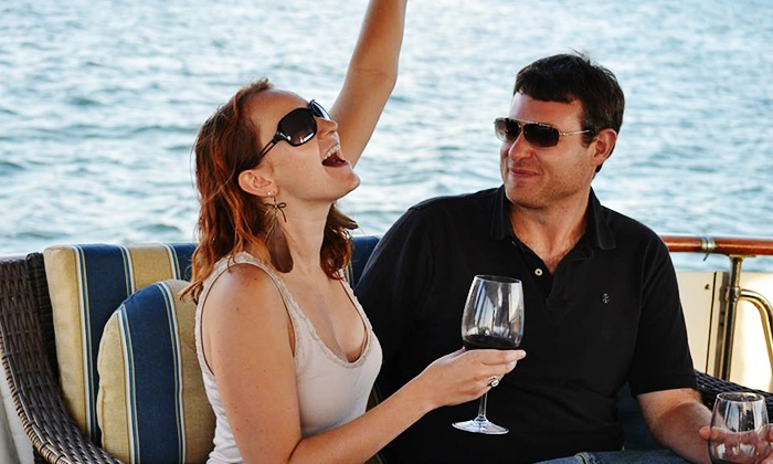 Shared Dreams - Midway District: Weekend 90-Minute BYOB Sunset or Afternoon Boat Cruise for Two from Shared Dreams (48% Off)