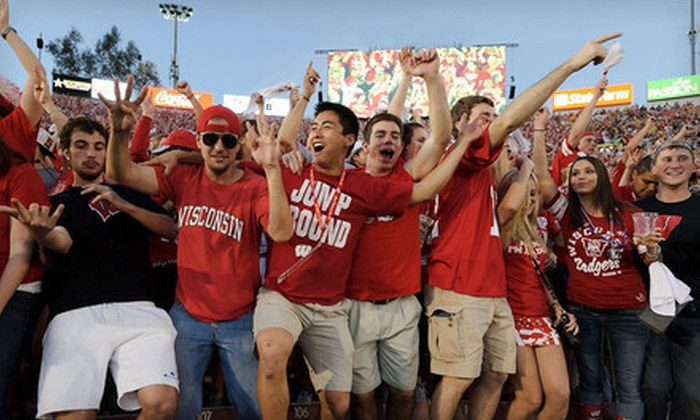 Badger Trips of Wisconsin - Madison: $2,499 for a Trip to the Rose Bowl for Two to See the Wisconsin Badgers from Badger Trips Wisconsin ($4,380 Value)