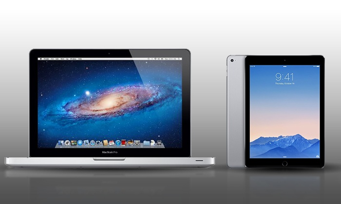"""Groupon Chicago: Enter to Win a 13.3"""" MacBook Pro and iPad Air 2"""