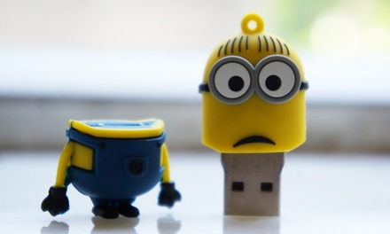 minion usb stick van 8 gb groupon goods. Black Bedroom Furniture Sets. Home Design Ideas