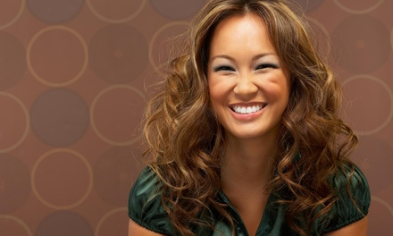 Highlights and Blow-Dry from Euro Designs Hair Salon (55% Off)