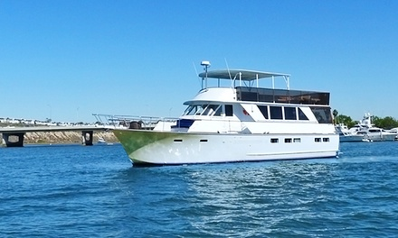 St. Patrick's Day Yacht Cruise with One or Unlimited Drinks from Newport Fun Tours (Up to 61% Off)