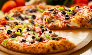 Flippin Pizza: PIzza, Garlic Knots, Sides, Salads, and Drinks at Flippin Pizza (Up to 42% Off)