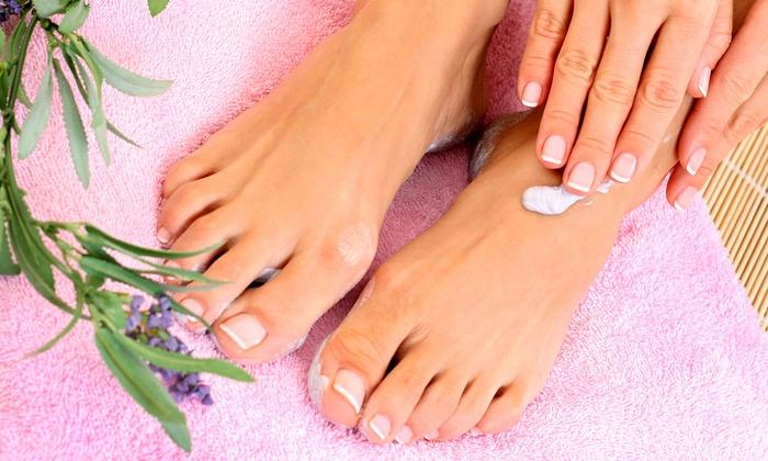 Magnolia Spa - Henderson: Two Spa Manicures, Two Spa Pedicures, or Two Spa Manicures and Pedicures at Magnolia Spa (50% Off)