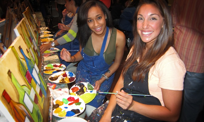 Pinot's Palette - Tustin: $25 for Paint and Sip Party at Pinot's Palette (up to $50 Value)