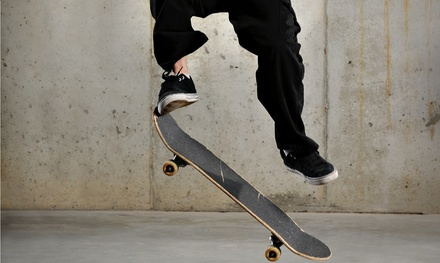Three or Six Groupons, Each Valid for a Two-Hour Skateboarding Session at Plan Nine (Up to 60% Off)