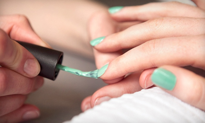 Savi Hair Studio, Tan & Nails - Elmwood Park: No-Chip Manicure