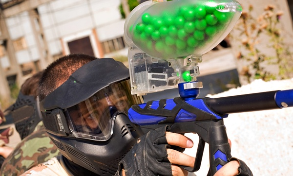 Outdoor Paintball For 6 Or 12 Battle Creek Paintball Groupon
