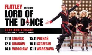 """Makroconcert: Od 95,99 zł: bilet na widowisko taneczne """"Lord of the Dance"""" – Gdańsk, Kraków, Wrocław, Poznań, Szczecin, Warszawa"""