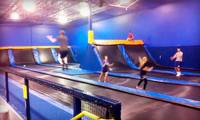Cosmic Jump Kansas City - Olathe Station: $12 for Two One-Hour Jump Sessions at Cosmic Jump (Up to Half Off)