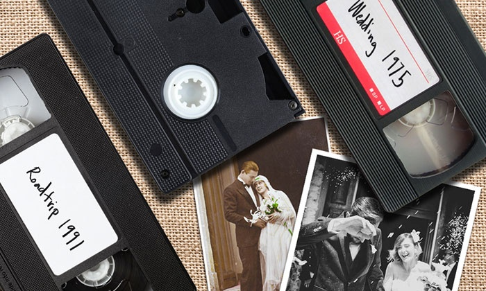 ScanDigital: Three or Six VHS-to-DVD Transfers or 100 or 250 Image Scans from ScanDigital (Up to 84% Off)