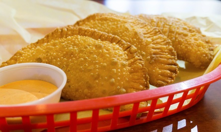 Empanadas and 16-Ounce Fountain Drinks for Two or Four at Olé! Spain Delishop (37% Off)