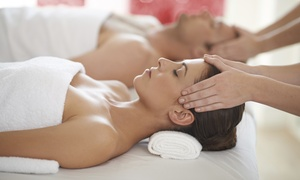 Lighten Up Day Spa: Chocolate Hydro Facial and Pedicure Packages for One or Two at Lighten Up Day Spa (Up to 52% Off)