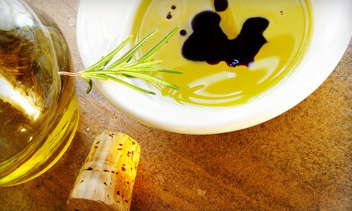 EVOO Marketplace - Multiple Locations: $25 for $50 Worth of Extra-Virgin Olive Oils and Aged Balsamic Vinegars at EVOO Marketplace