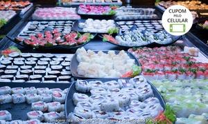 Expresso São Paulo: Expresso São Paulo – Flamingo Shopping: rodízio de petisco, sushi e comida de boteco para 1, 2, 4 ou 6 pesssoas