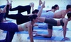 Bikram Yoga Carle Place - Carle Place: 5 or 10 Bikram and Vinyasa Yoga Classes at Bikram Yoga Carle Place (Up to 58% Off)