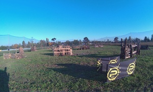 PAINTBALL ELITE: Partita di Paintball fino a 6 persone da Paintball Elite school Bergamo (sconto fino a 60%). Valido in 2 sedi
