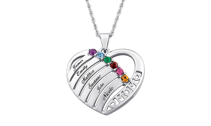 Up To 81 Off A Custom Mother S Birthstone Necklace