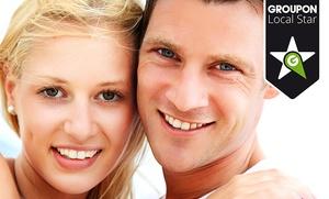 Limpieza bucal con radiografía y 1 o 2 sesiones de blanqueamiento dental LED desde 59,95 € en Clínica Patins
