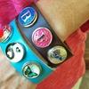 LilyDeal Snap Charm Bracelet