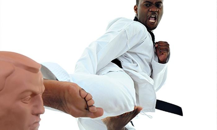 Master Pierce's Taekwondo - Lynnwood: $35 for $69 Toward Six Weeks of Unlimited Classes at Master Pierce's Taekwondo