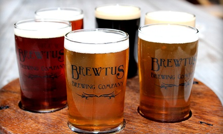Up to 50% Off Beer Flights at Brewtus Brewing