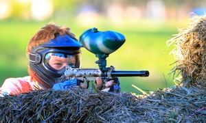 AWOL Paintball & Adventure Centre: Paintball with 100 Paintballs for Four, Five, Six, Seven, Eight or 10 at AWOL Paintball & Adventure Centre (70% Off)