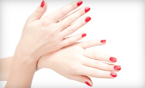 Only Nails and Hair: Shellac Manicure or Pedicure at Only Nails and Hair (Up to 53% Off)