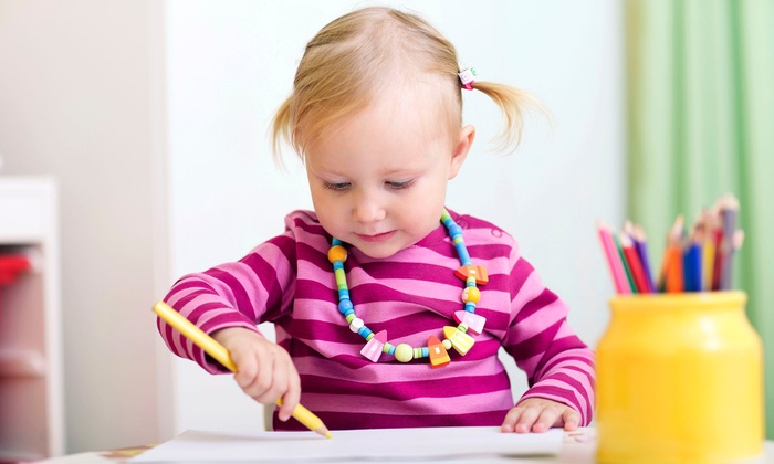 Kidzville Learning Center - Multiple Locations: Montessori Preschool, Daycare, or Before- and After-School Care at Kidzville Learning Center (Up to 50% Off)