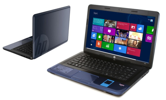 """HP Winter Blue 15.6"""" Notebook: $274.99 for an HP Winter Blue 15.6"""" HD Notebook ($349 List Price) (Manufacturer Refurbished). Free Shipping and Returns."""