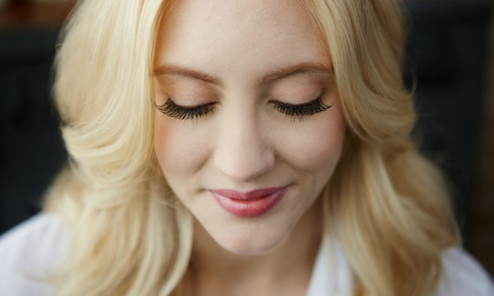 Organic beauty - Clearwater: Full Set of Eyelash Extensions with Optional Fill at Organic Beauty (Up to 62% Off)