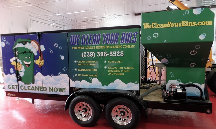 We Clean Your Bins - Naples: One Hour of Cleaning Services from We clean your bins (60% Off)