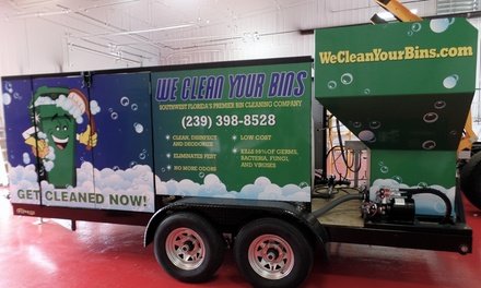 One Hour of Cleaning Services from We clean your bins (60% Off)