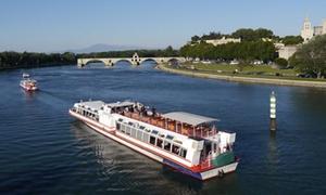 Les croisières Mireio Avignon: Dîner ou déjeuner croisière sur le Rhône pour 2 personnes dès 75,90 € avec Les Croisières Mireio