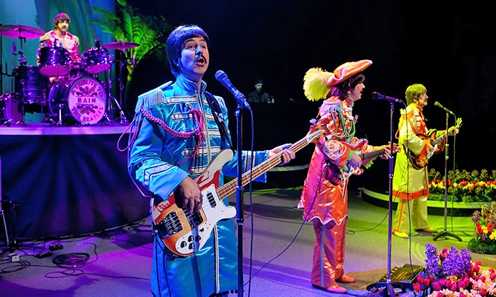 """Rain: A Tribute to the Beatles - Tennessee Theatre: """"Rain: A Tribute to The Beatles"""" on March 1 at 8 p.m."""
