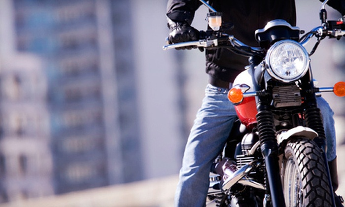 Full Throttle Riding Academy - Thornton: $104 for a Basic Motorcycle-Riding Night Course at Full Throttle Riding Academy (Up to $249 Value)